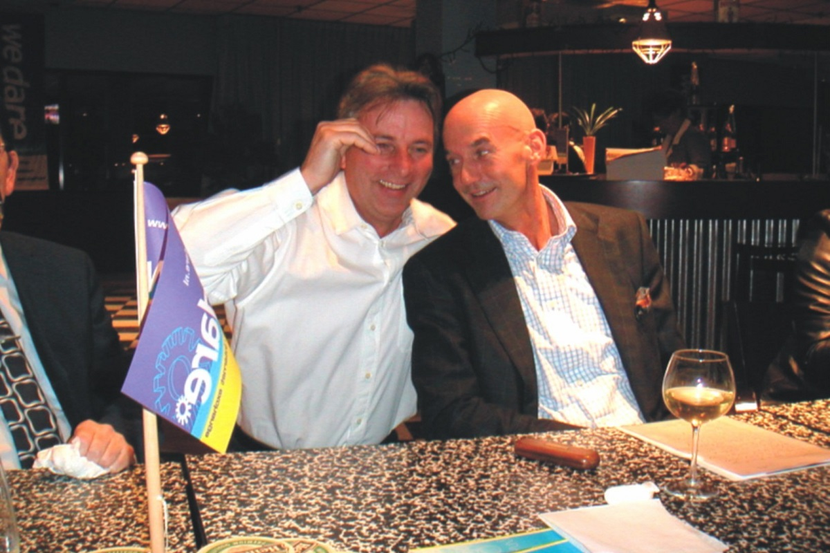 Pim Fortuyn en Hans Smolders