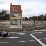 Draaiend huis gebouwen Tilburg