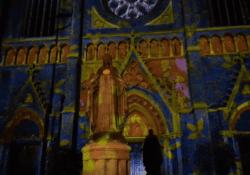 Lichtshow Heuvelse kerk