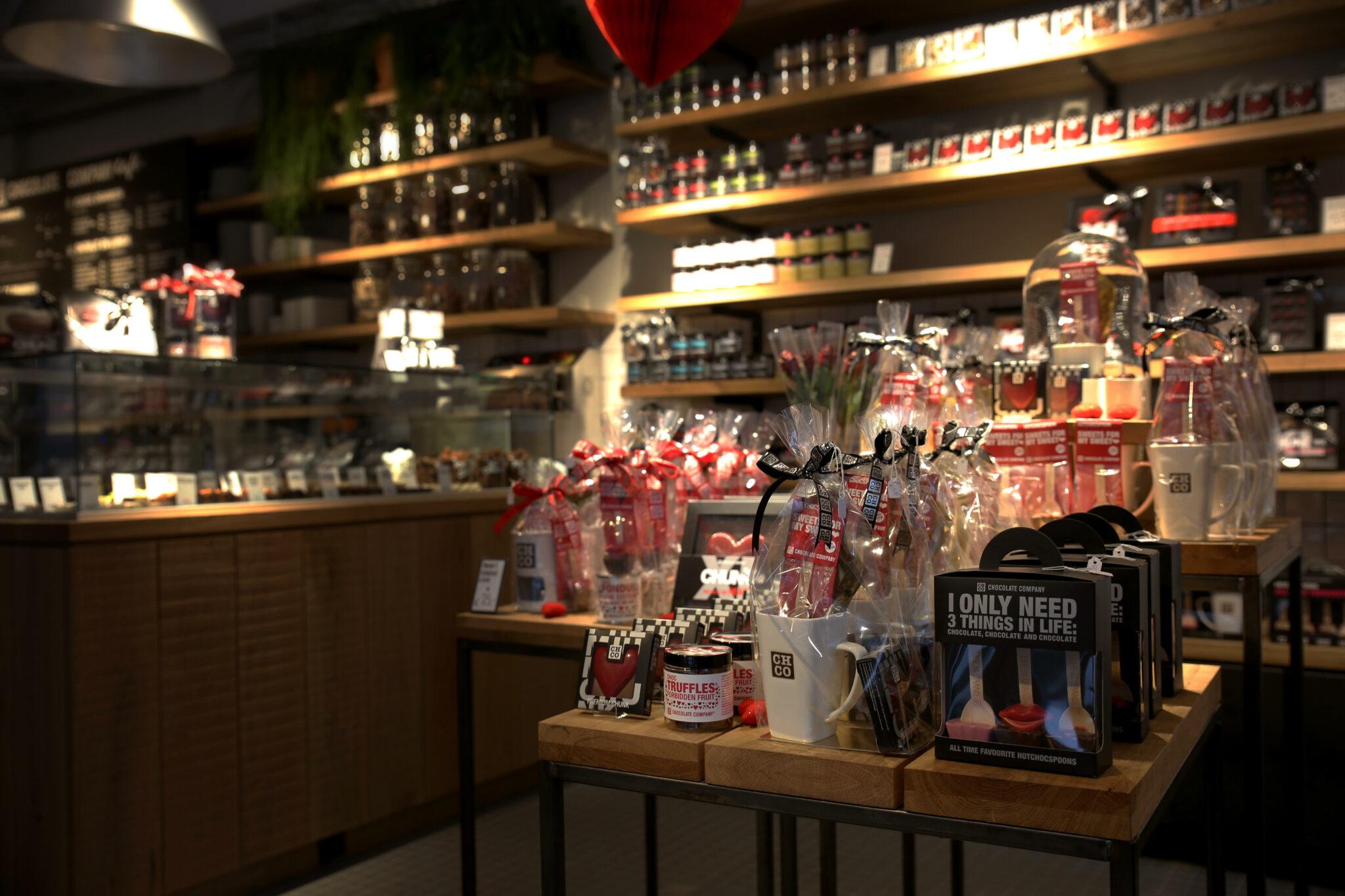 Een hoop lekkers nieuw in het assortiment! Foto: Chocolate Company Café Tilburg