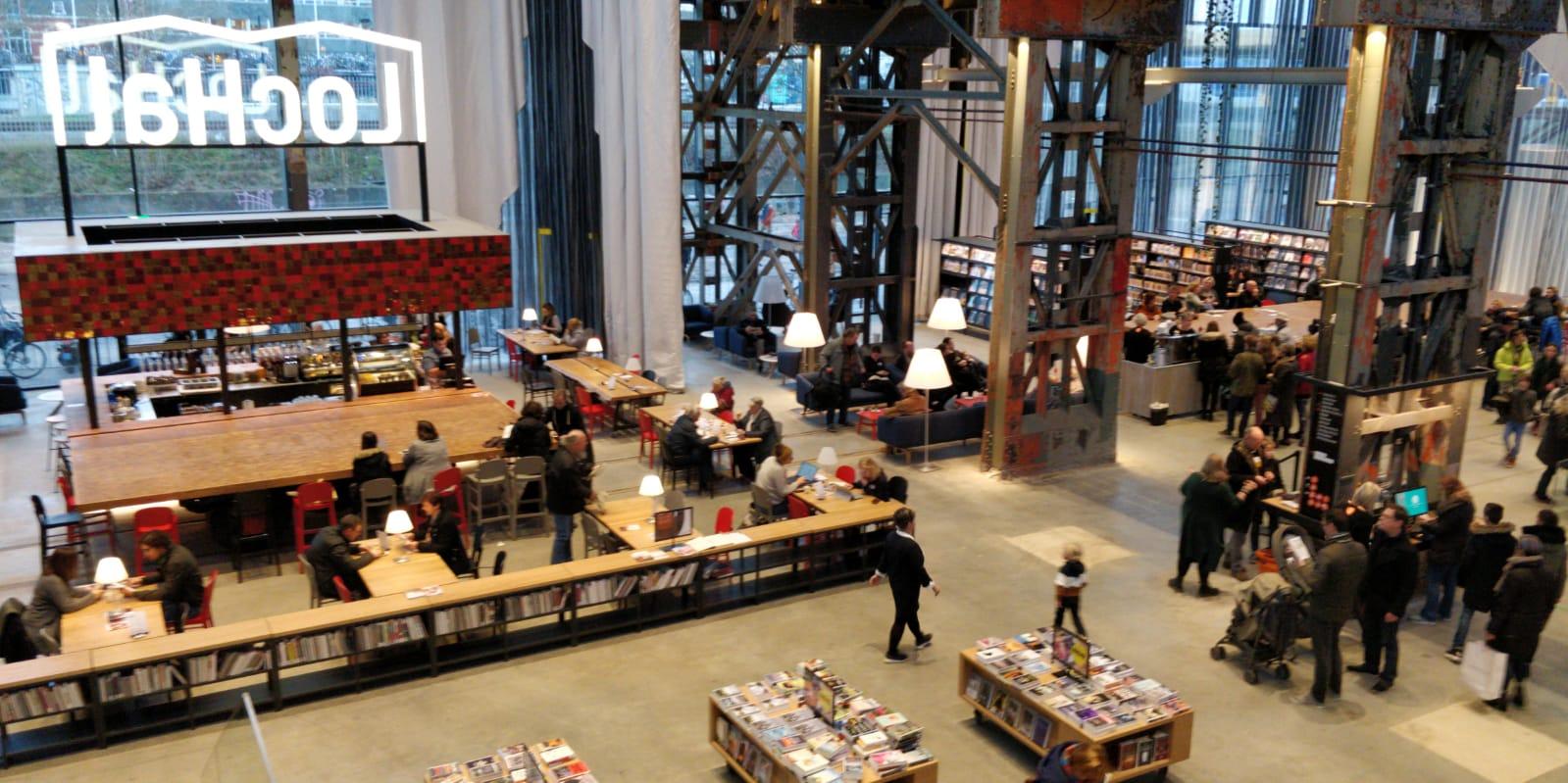 bibliotheek tilburg lochal