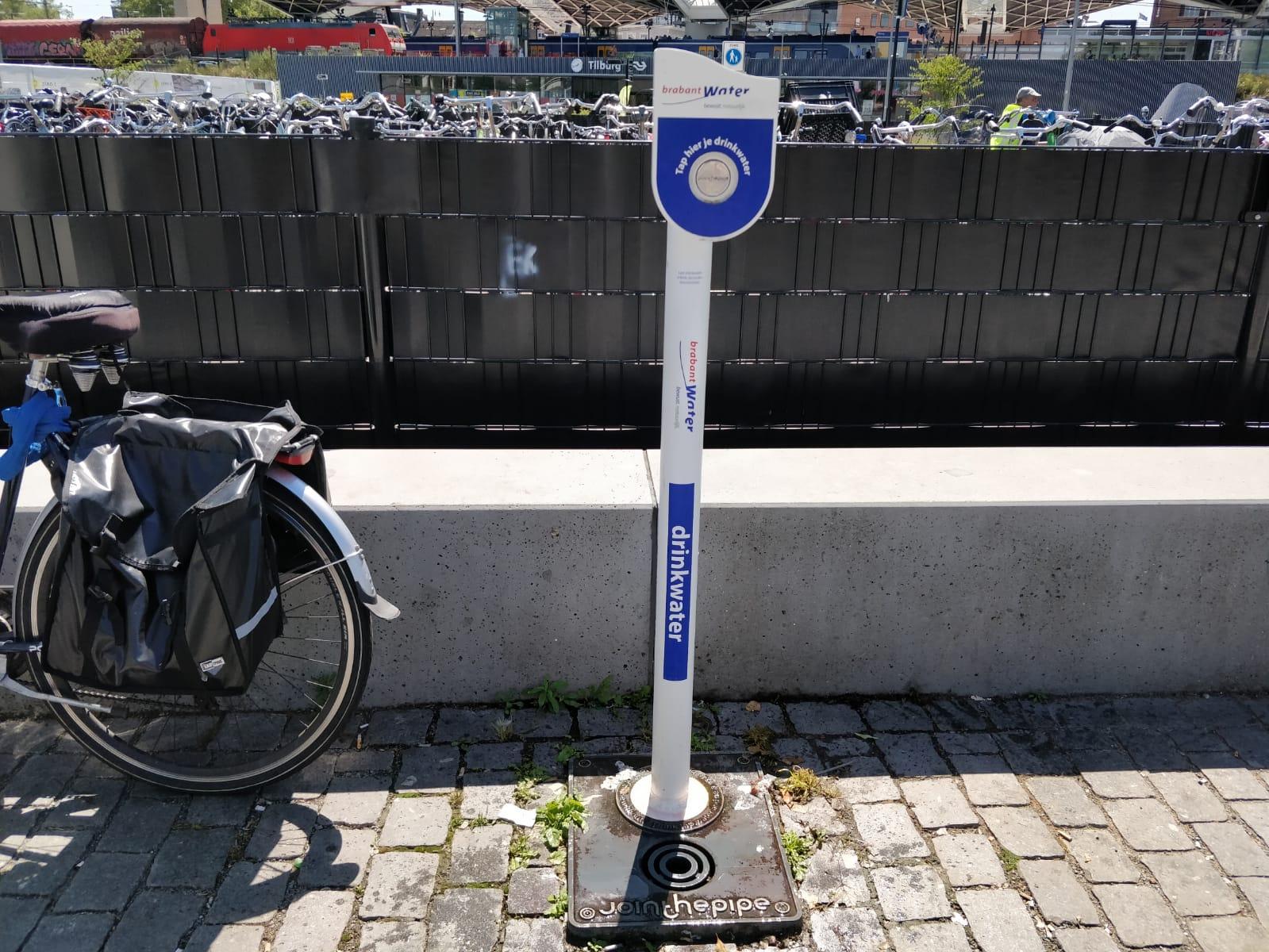 openbare watertappunten Tilburg