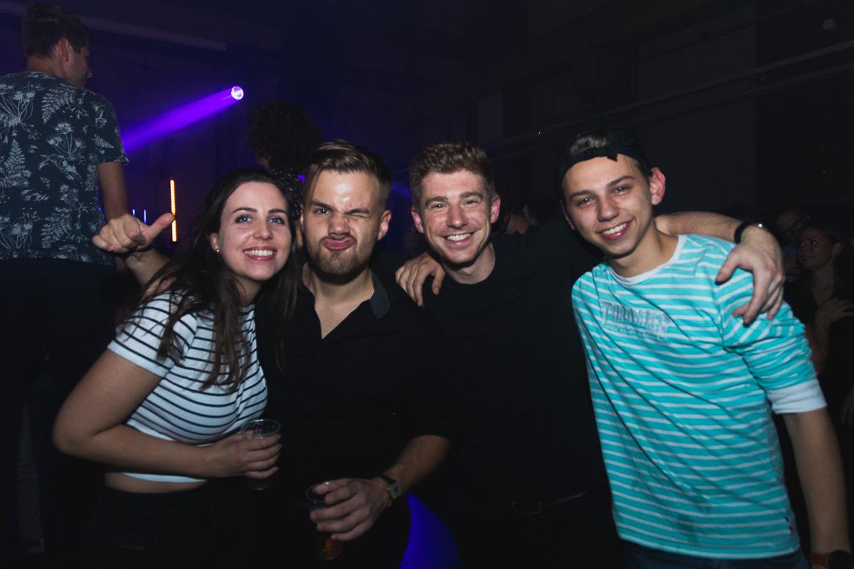 Vrienden op de foto