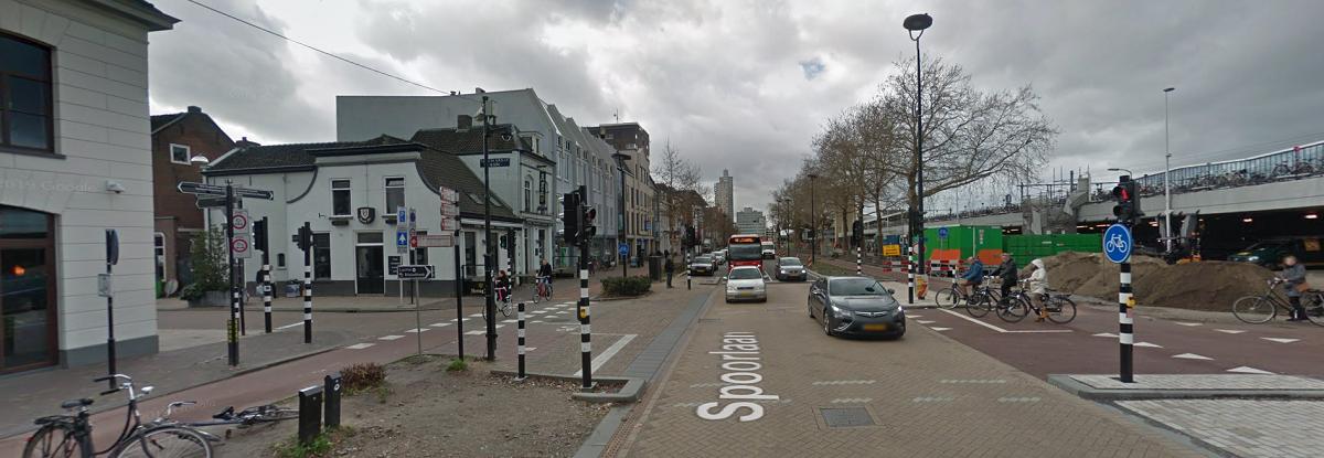 Kruising Spoorlaan en Willem II-straat