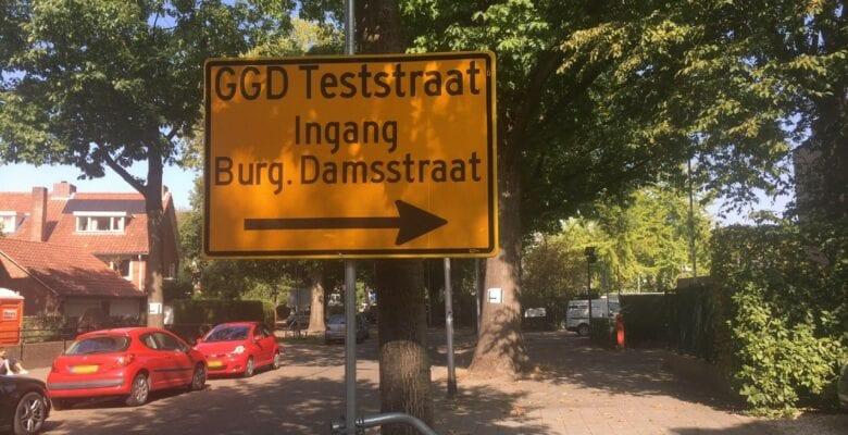 coronatest Tilburg corona positief getest