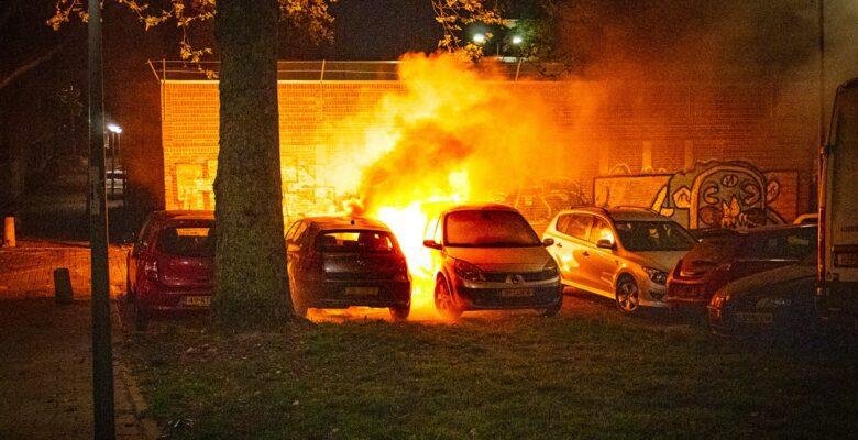 Autobranden Tilburg