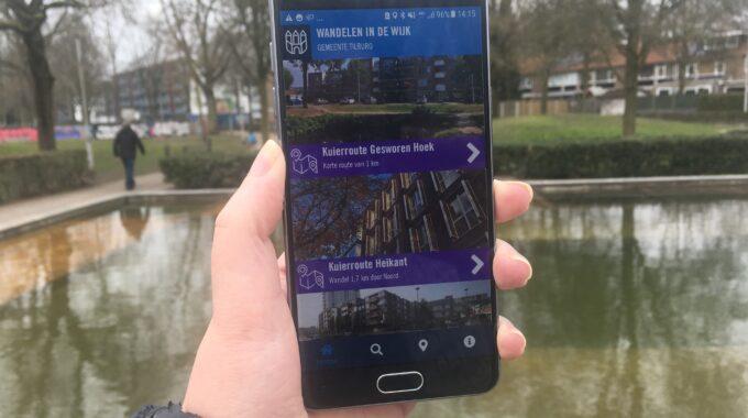 Wandelroutes app