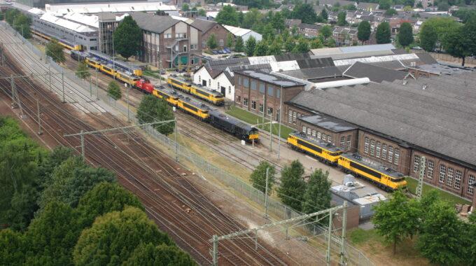 spoorzone jaren 60