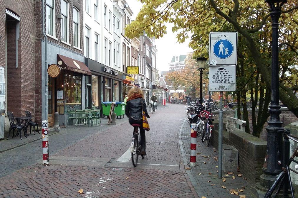 Fietsen Oudegracht Utrecht