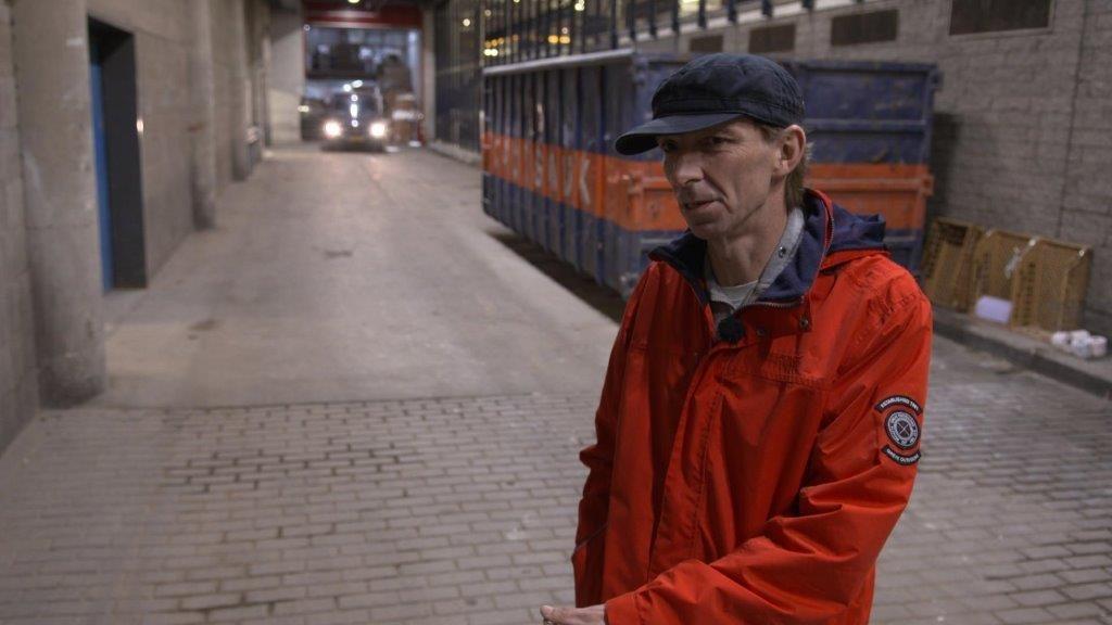 Ex-verslaafde Jan in de junkentunnel onder Hoog Catharijne