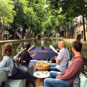 Grachtenvaarders Utrecht