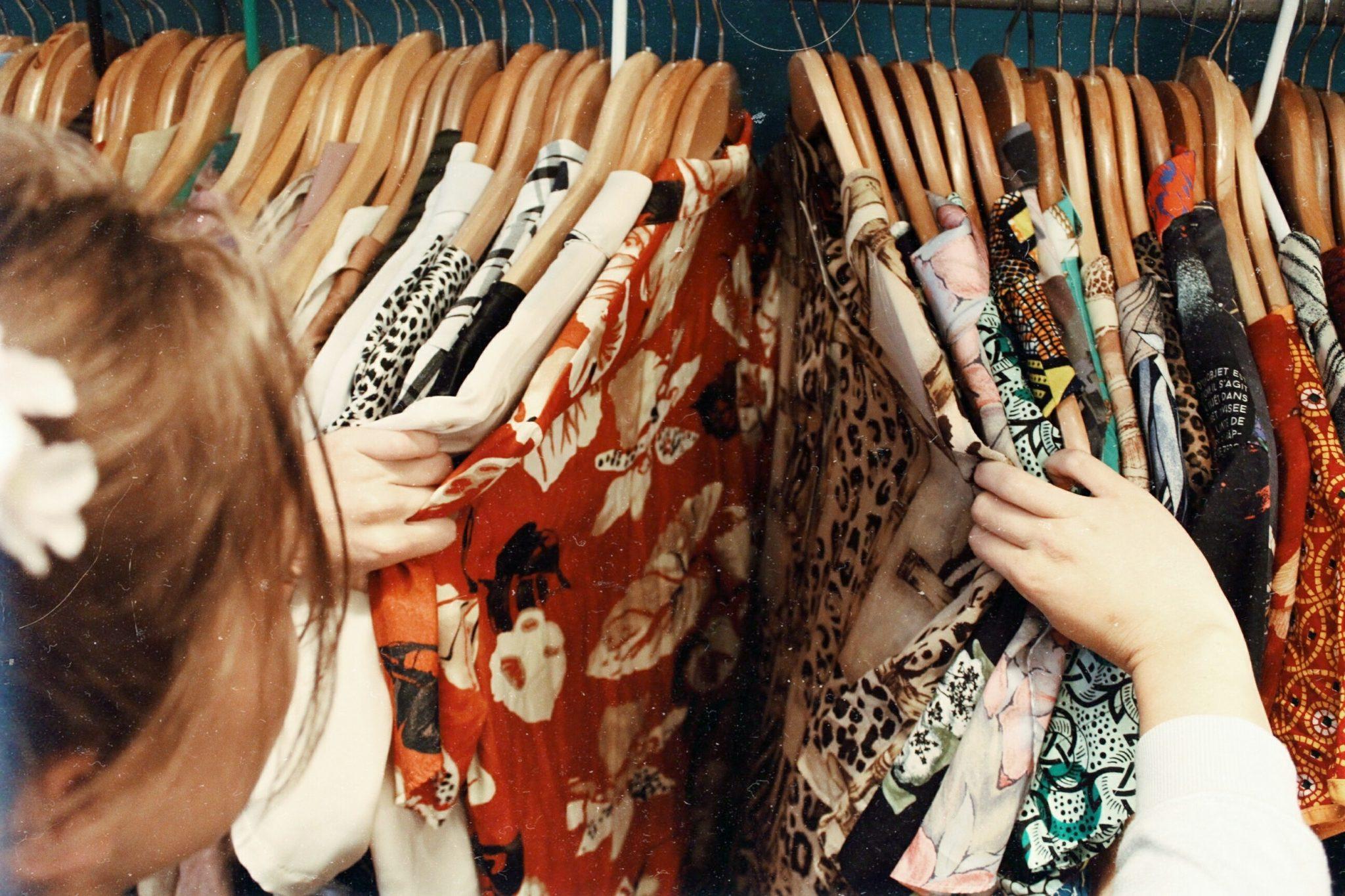 vintage tweedehands kleding