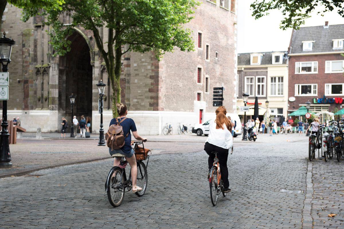 domplein fietsers utrecht