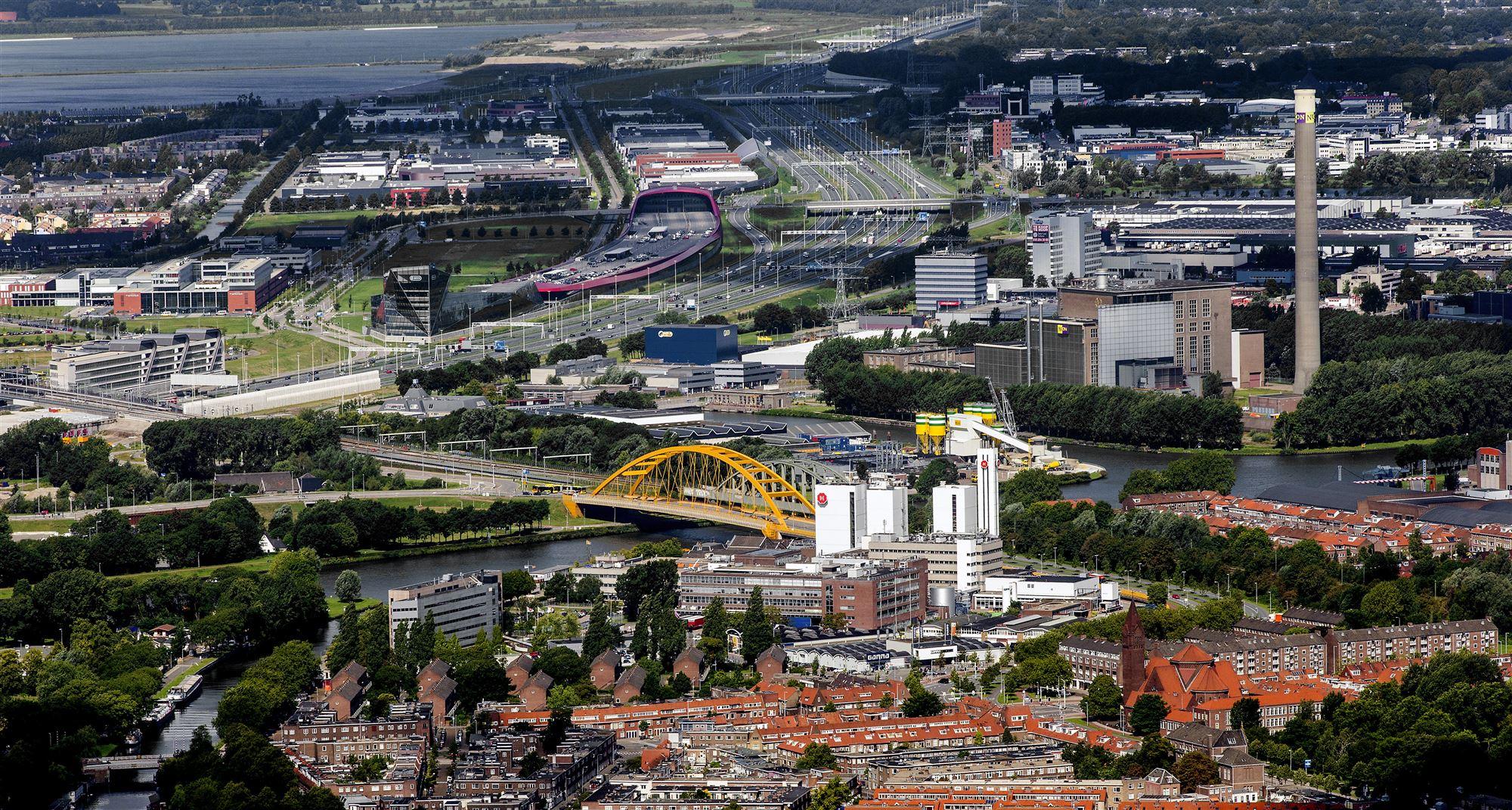 Douwe Egberts fabriek Utrecht