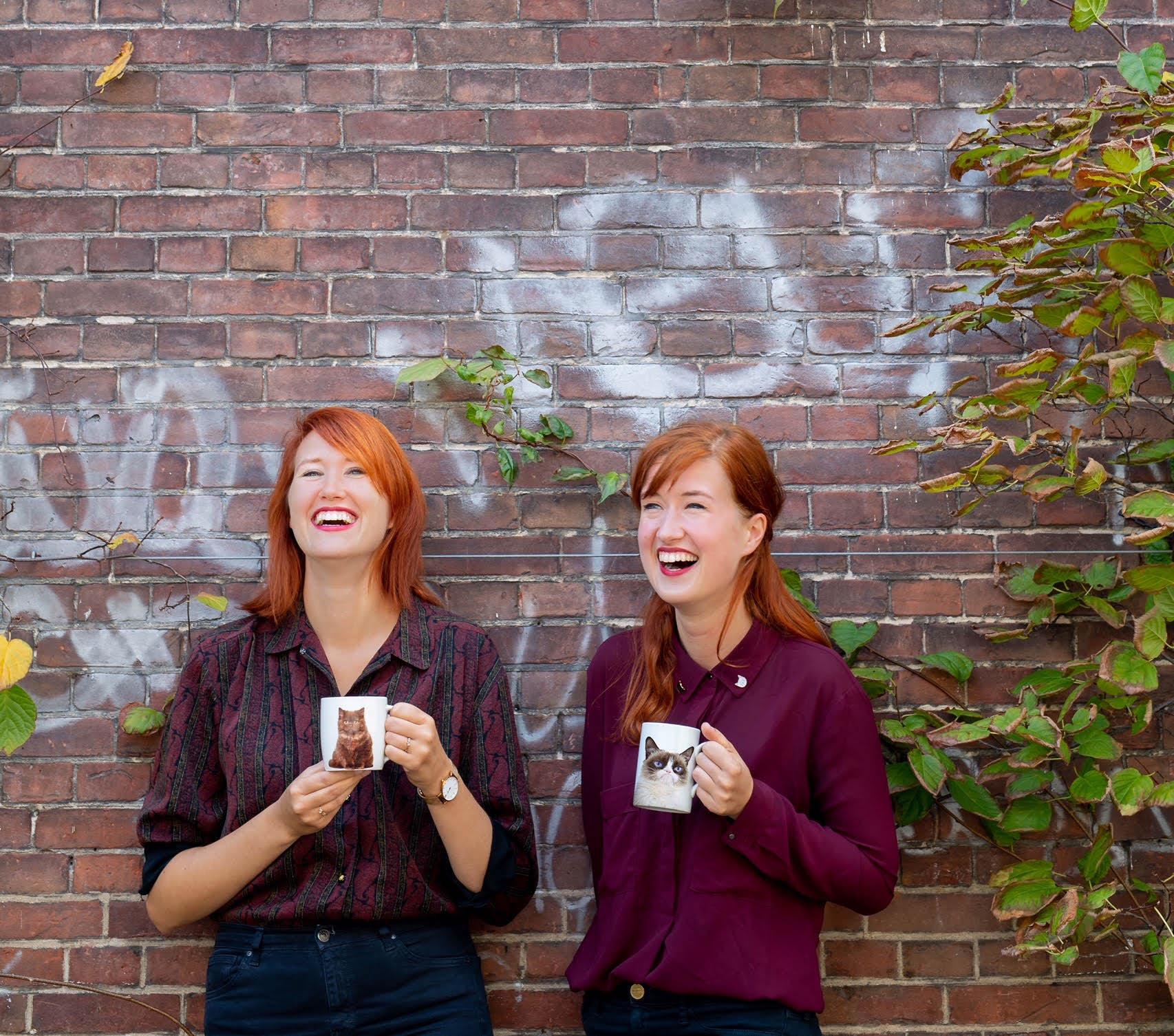 Ester (links) en Agnes (rechts) Foto: Saskia Lelieveld