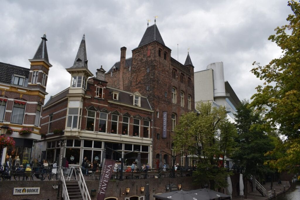 oudegracht utrecht binnenstad