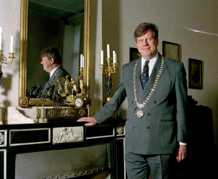 Burgemeester Ivo Opstelten