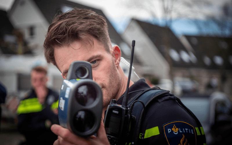 handhavers lasergun utrecht