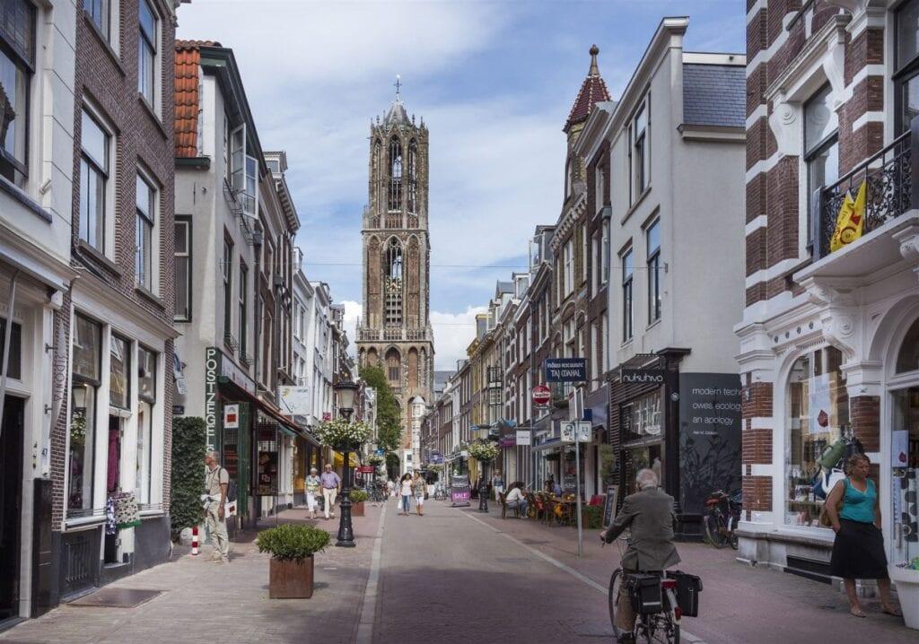 Zadelstraat Domtoren Utrecht