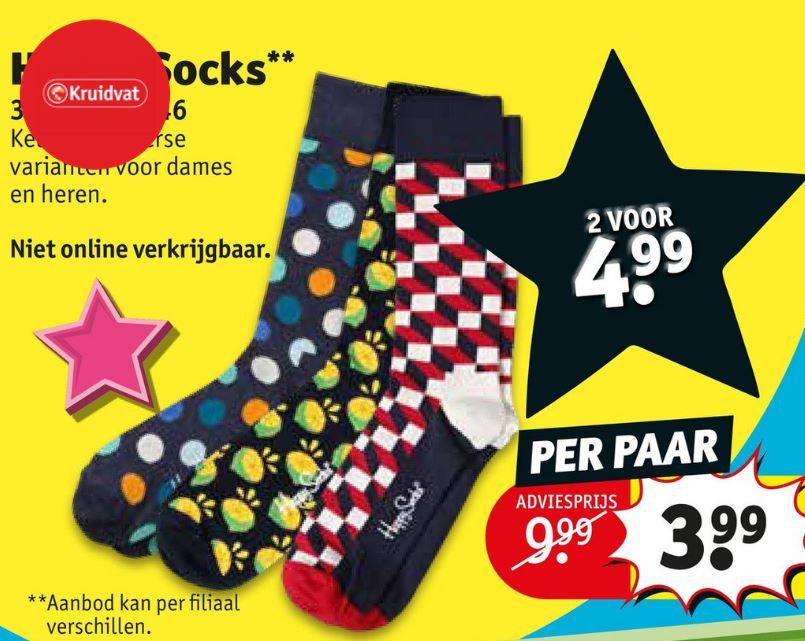 happy socks kruidvat