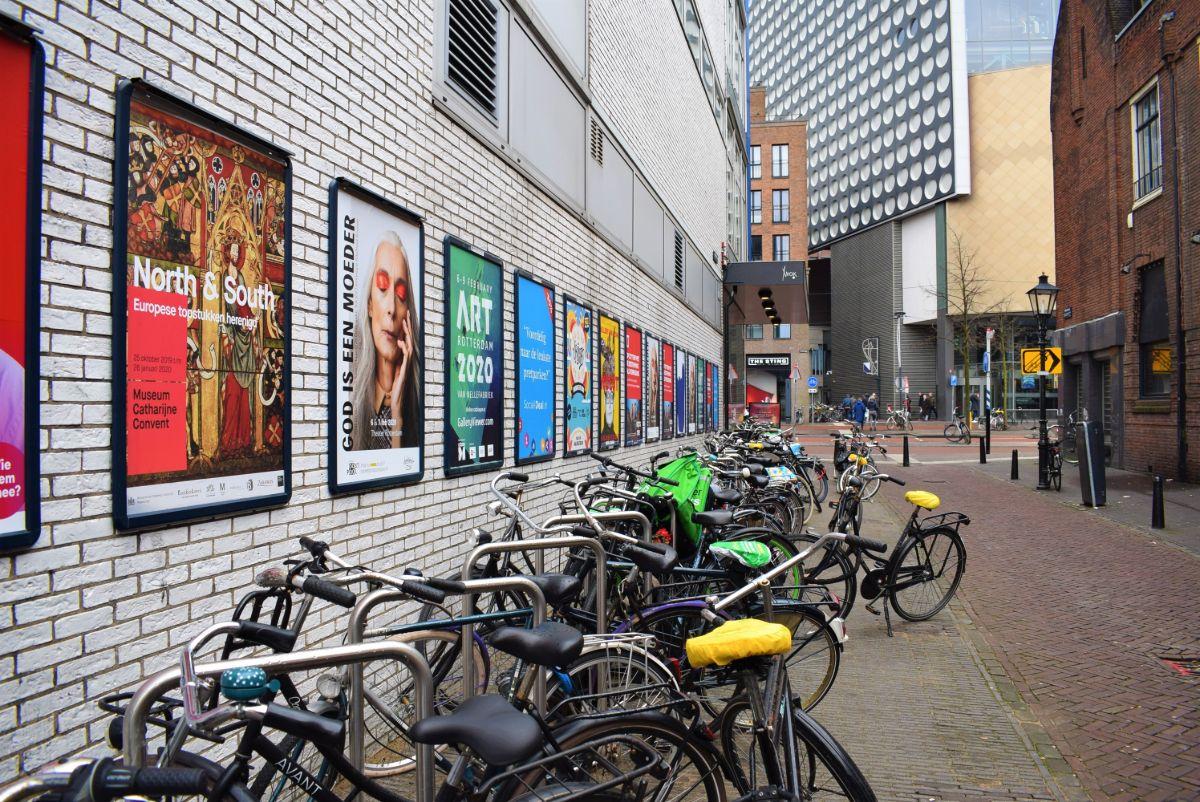 fietsnietjes willemstraat binnenstad utrecht