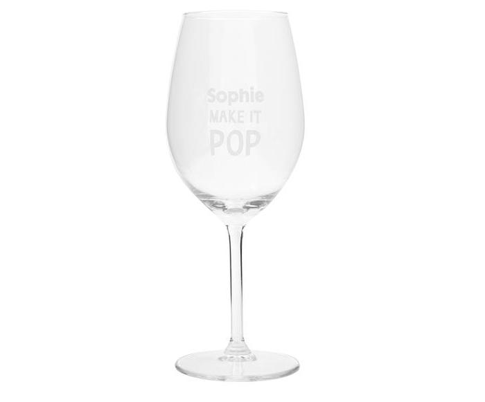 Hema wijnglas