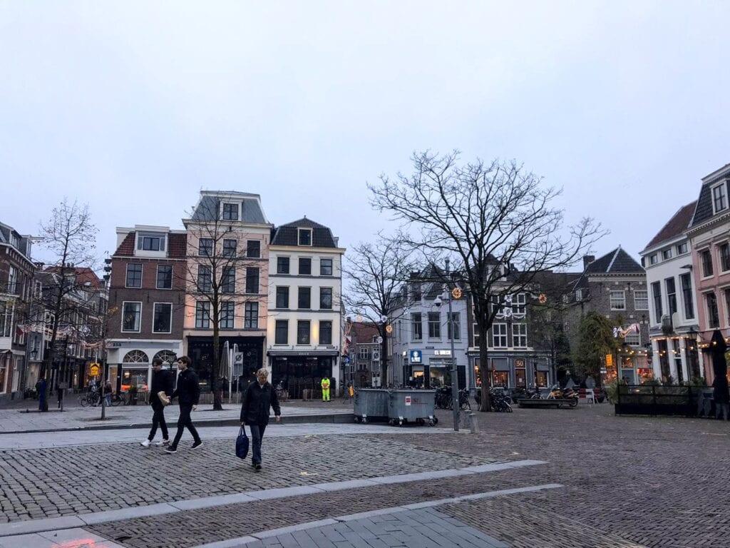 stadhuisplein winter Utrecht