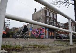 muurschildering graffiti oosterkade