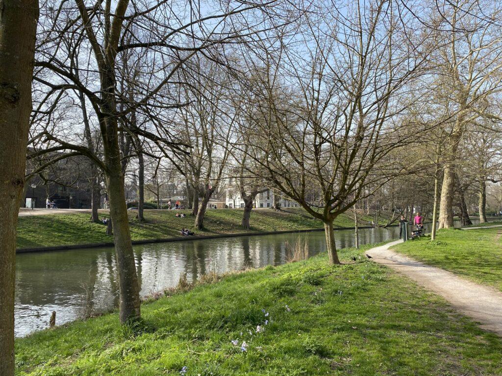 wandelen lente utrecht