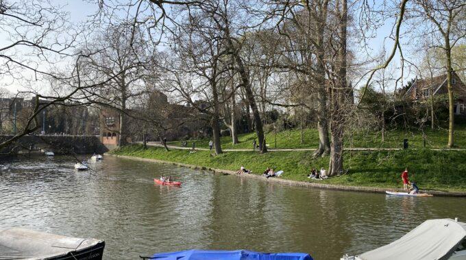 varen kano waterfiets lente utrecht