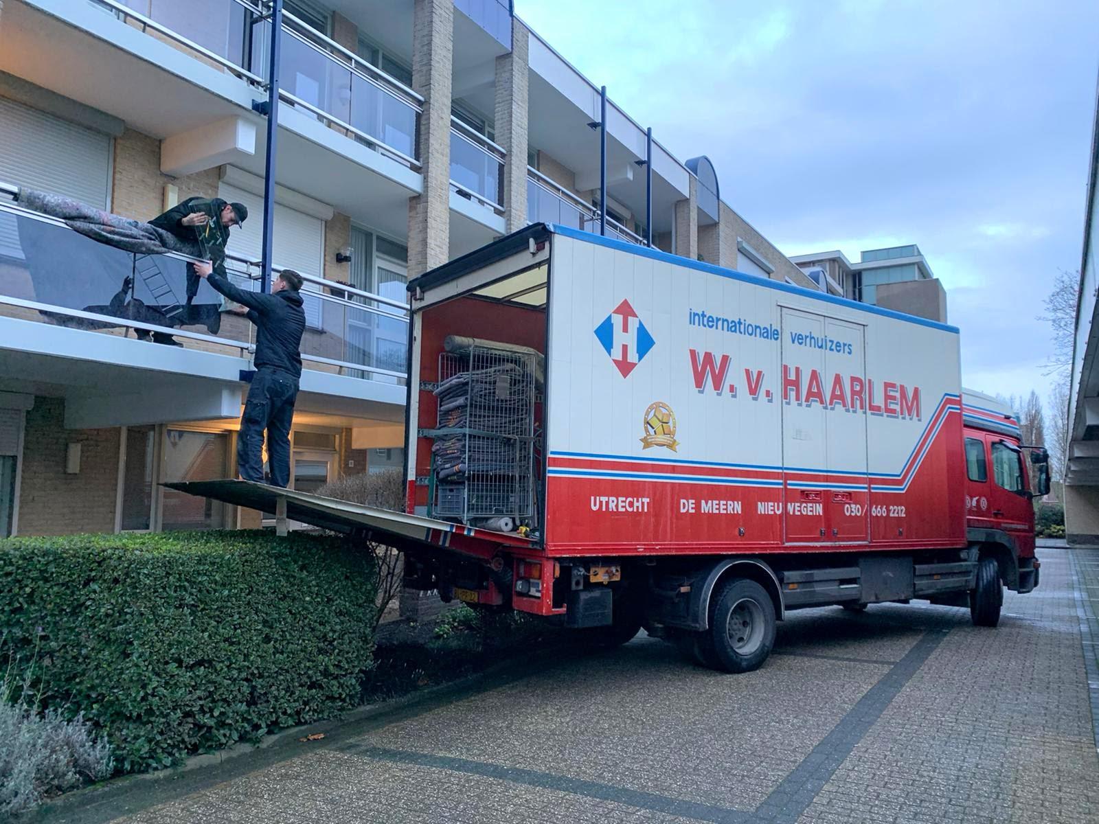W van Haarlem Verhuisservice