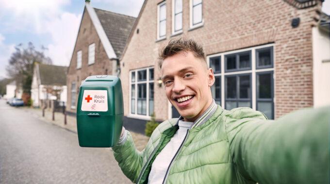 Rode Kruis collecte
