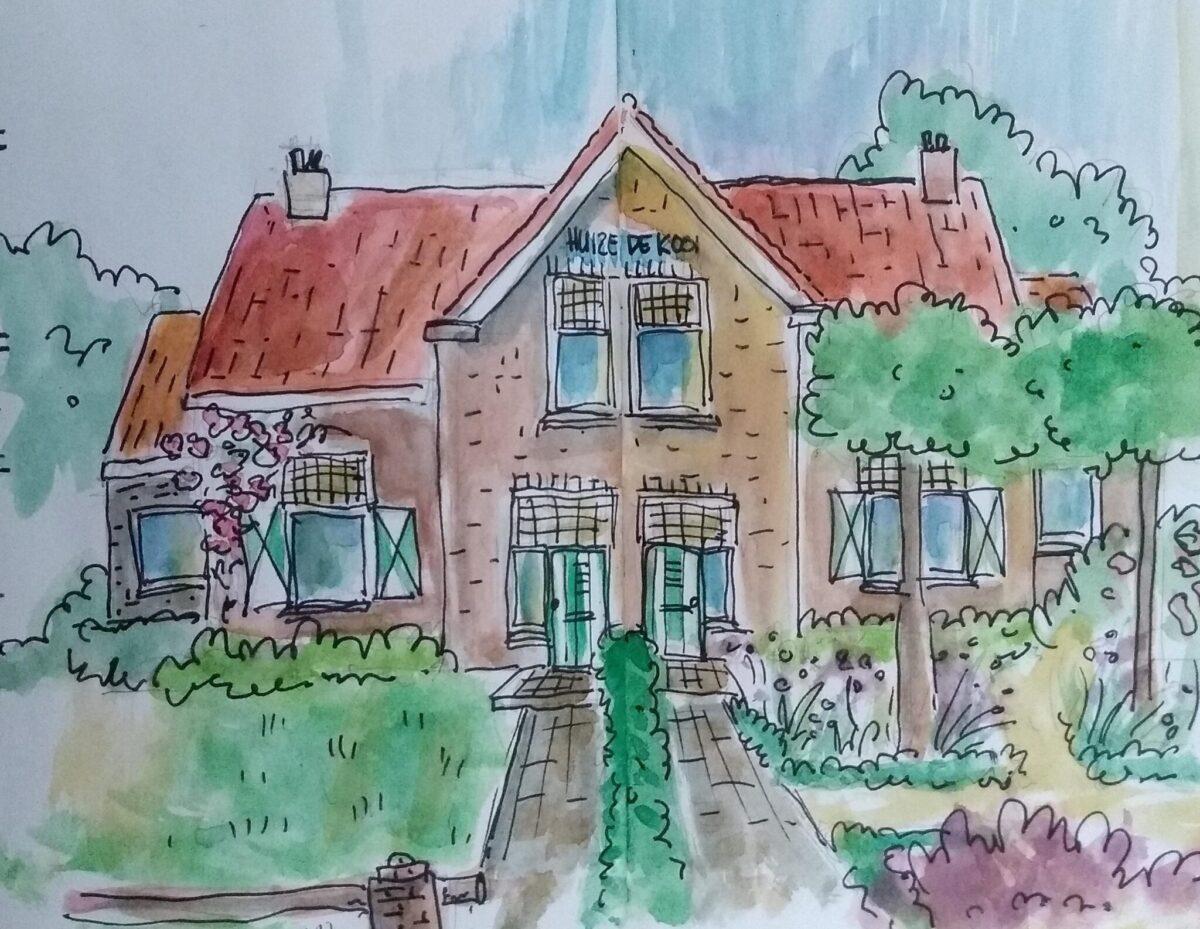 Illustratie van visueel vormgever Trudy Voos uit Veenendaal