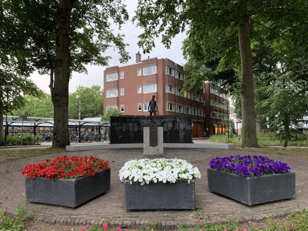 Stationsplein in Veenendaal