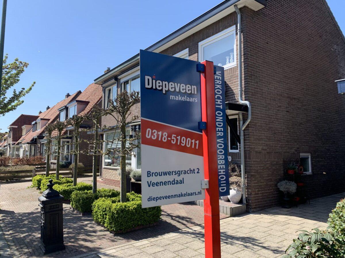 verkoopbord Veenendaal