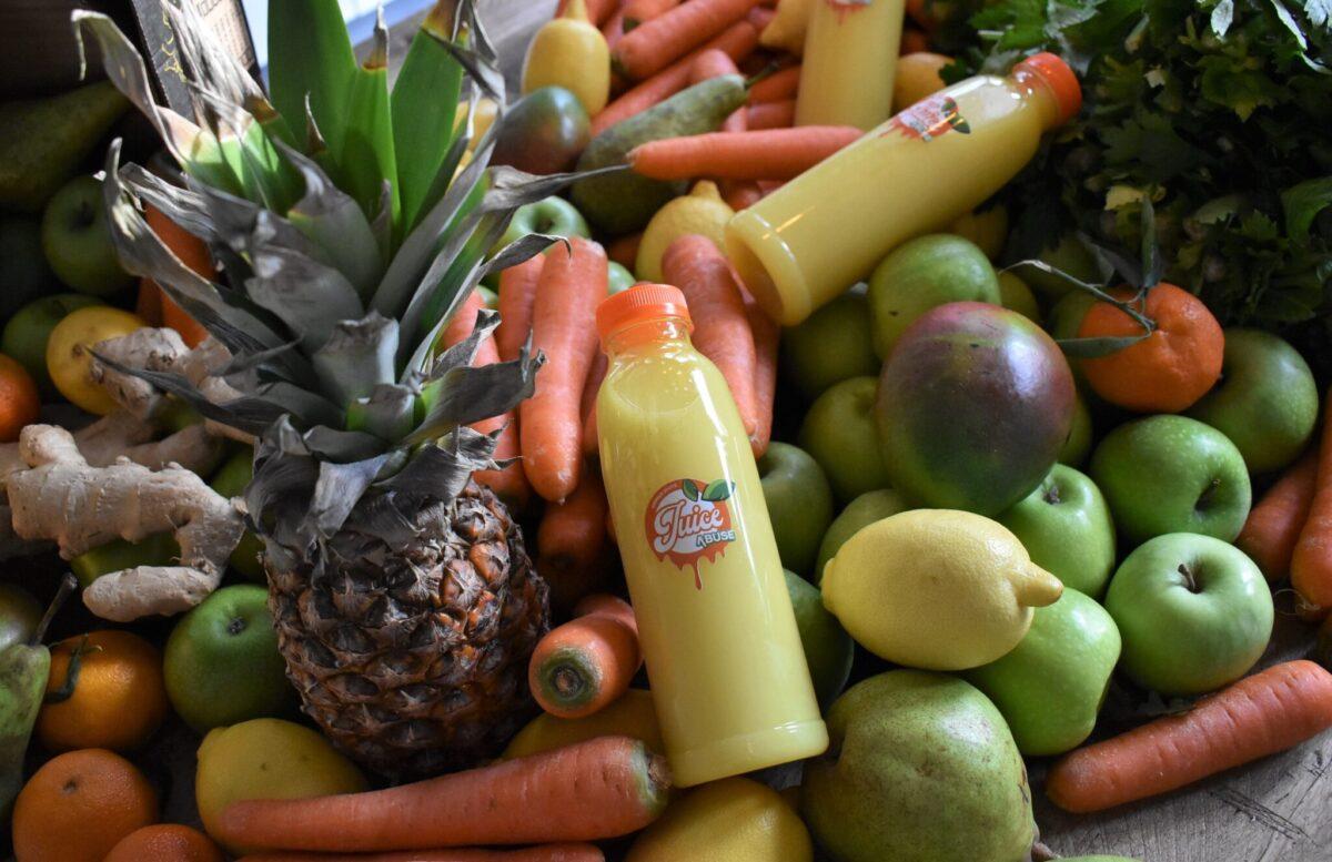 Groente en fruit van Purejuiceabuse