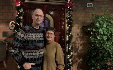 Gert en Marina Spies kerst