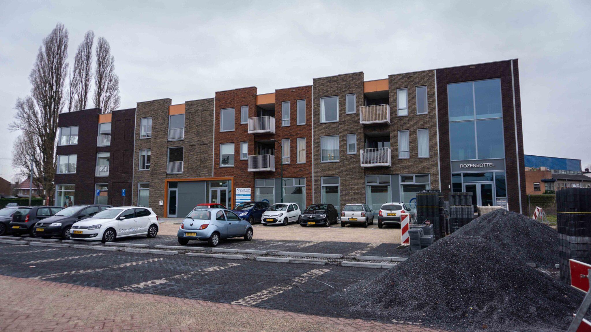 Rozenbottelcomplex in Veenendaal