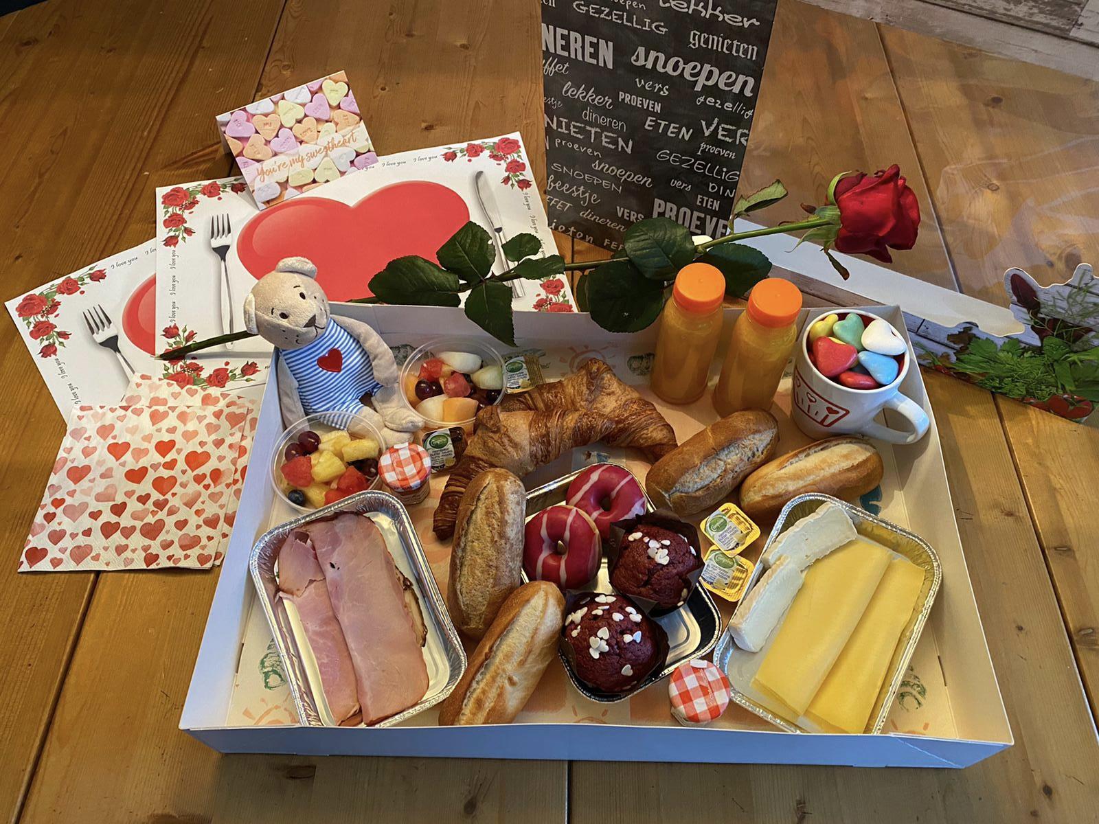Verras je Valentijn met een lekker ontbijt van Délifrance Veenendaal