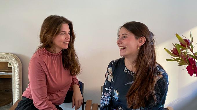 Marieke en Lies van Tof voor Thuis
