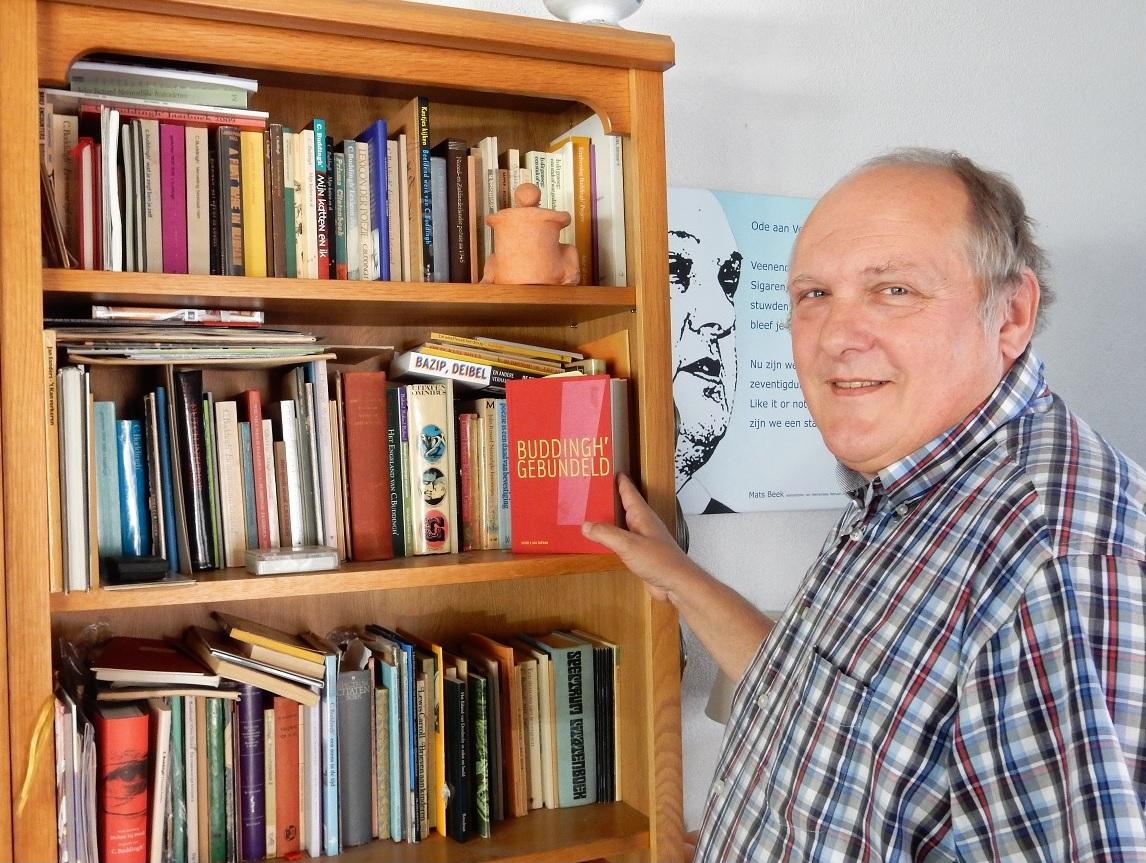Voormalig stadsdichter Mats Beek