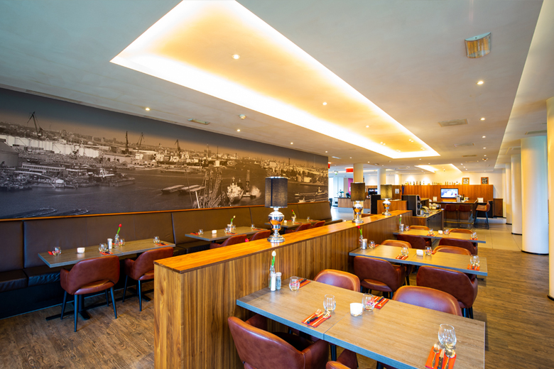 Vlaardingen 2. Restaurant in Bastion Hotel Vlaardingen (Foto Bastion Hotels)