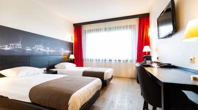 Vlaardingen 1. Deluxe kamer Bastion Hotel Vlaardingen (Foto Bastion Hotels)