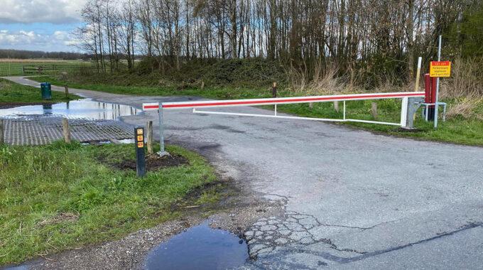 Parkeerplaats Breeweg afgesloten