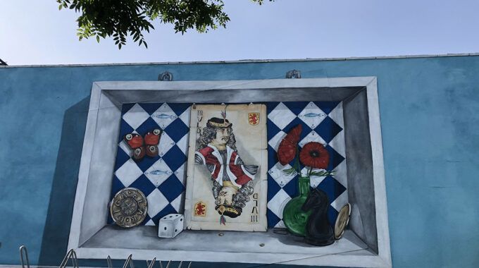 Muurschildering Van Riebeeckstraat