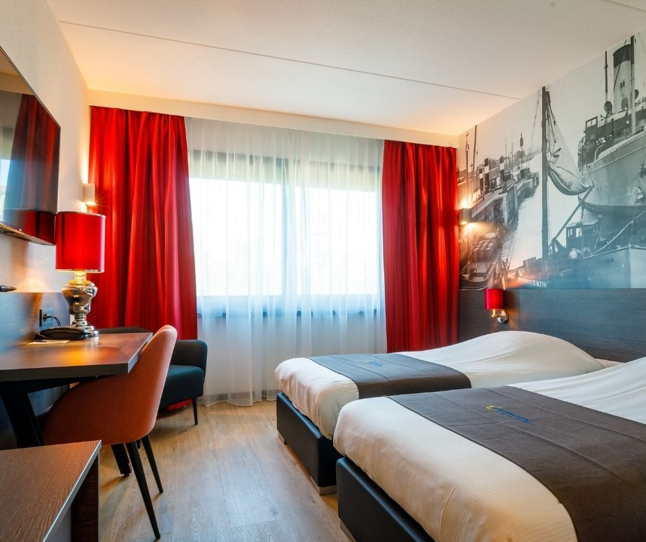 Haarlem 3 - Deluxe kamer in Bastion Hotel Haarlem Velsen (Foto Bastion Hotels)
