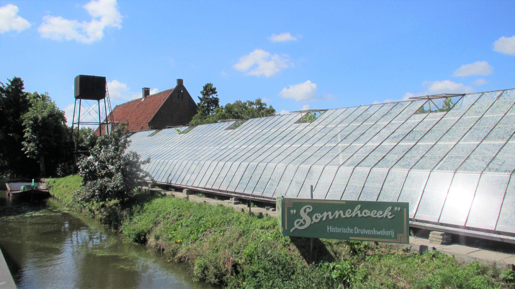 Historische Druivenkwekerij Sonnehoeck in WestlandSonnehoeck via stichting Historische Druivenkwekerij Sonnehoeck