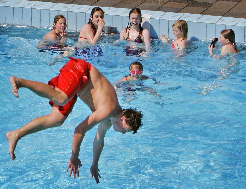 Zwemmen in buitenlucht Westland