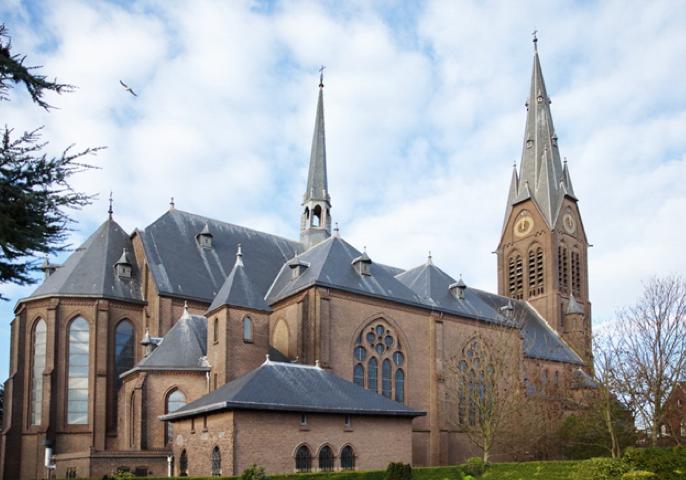 De Bartholomeuskerk in Poeldijk. Beeld: Stichting Monumentaal Westland.