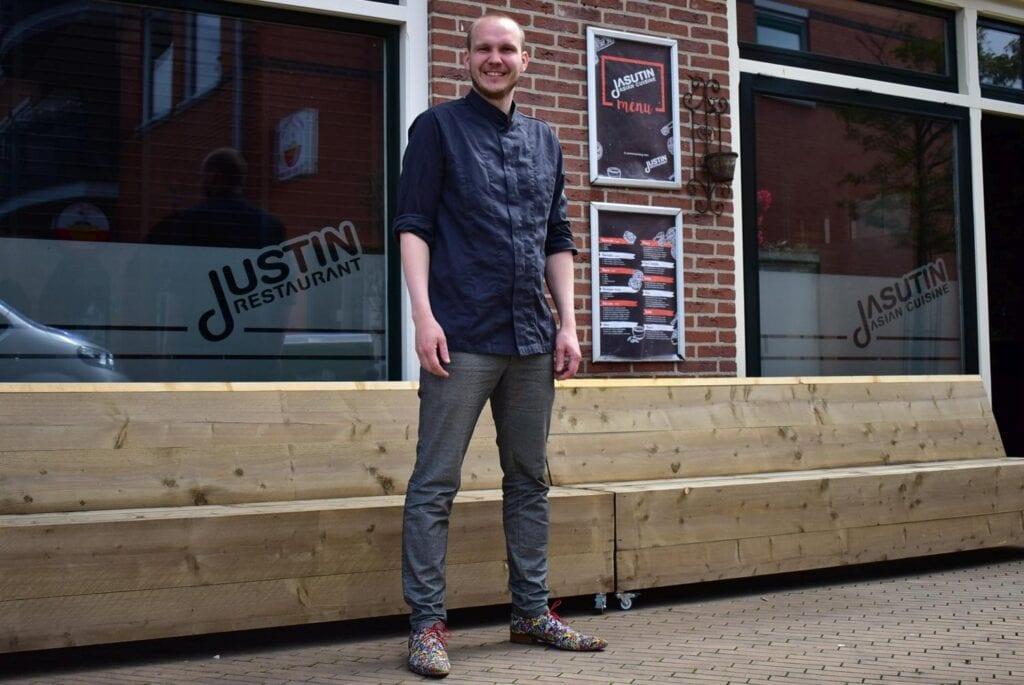 Justin Schellevis voor Justin en Jasutin (1)